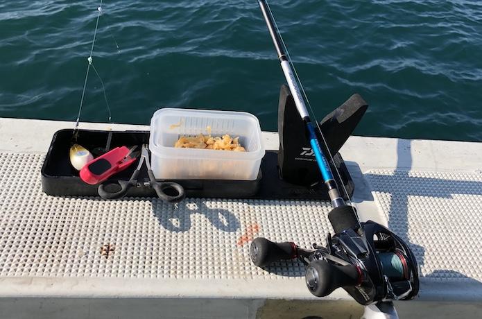 船 カワハギ 釣り方