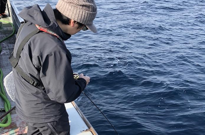 中深海ジギング 釣り方
