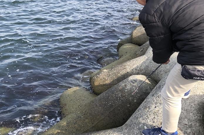 穴釣り 釣り方