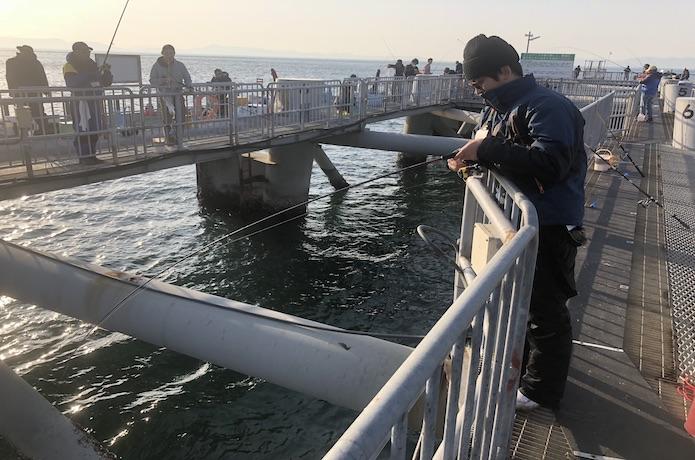 サビキ釣り 操作