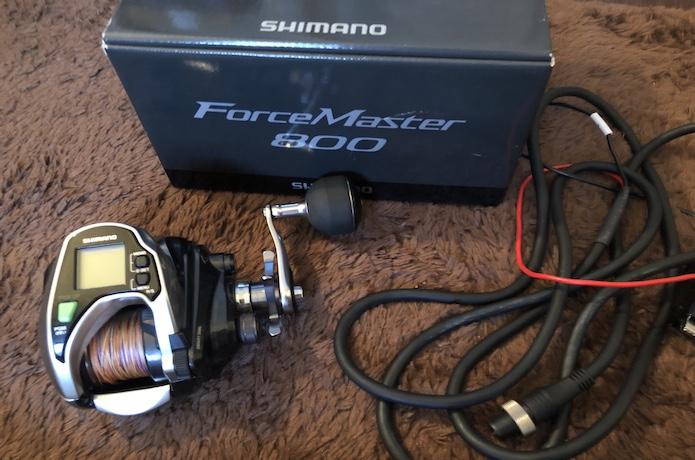 フォースマスター 800 インプレ