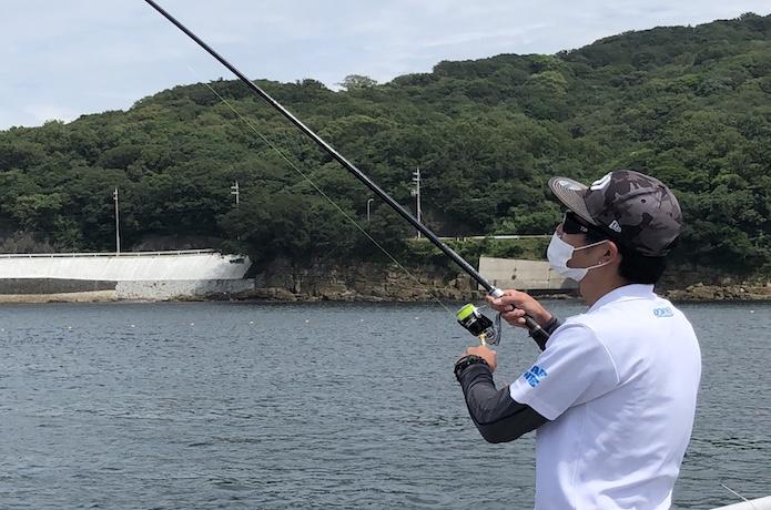 タチウオ ウキ釣り ギア比