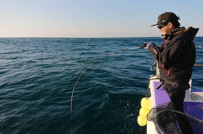 ひとつテンヤ 釣り方